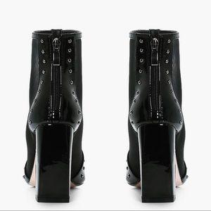 Boohoo Shoes - Boohoo Mesh Studded Boots